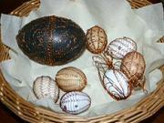 Drôtované vajíčka - ako ozdobiť vajíčka drôtovaním