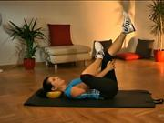 Cviky s overball - pretiahnutie celého tela