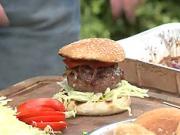 Grilovaný burger - recept na hovädzí grilovaný burger