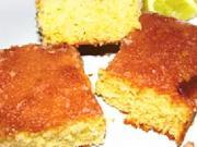 Citrónový koláč - recept na rychlý  citrónový koláč