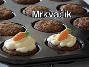 Mrkváčik - recept na mrkvové muffiny