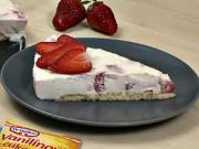 Nepečený ovocný dort - recept na ovocný dort