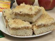 Kysnutý jablkový koláč s mrveničkou - recept na ovocný koláč