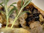Plnené morčacie prsia - recept na morčacie prsia plnené sušenými slivkami a orechami