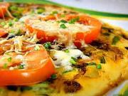 Vaječná omeleta s fazuľkami - recept na vaječnú omeletu