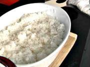 Ryža na sushi - recept na sushi ryžu - ako sa robi ryža