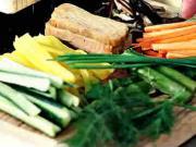 Zelenina na sushi - recept na prípravu zeleniny na sushi