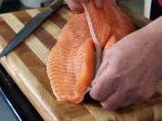 Priprava rýb na sushi - recept na prípravu rýb na sushi