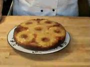 Ananasový koláč- recept na ananasový koláč zo šľahaného cesta