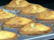 Vanilkové mafiny s malinami - recept na vanilkové muffiny