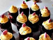 Čokoládové cupcakes - recept na čokoládové cupcakes - mafiny - MISTA