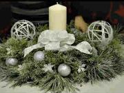 Vánoční ikebana - jak vyrobit vánoční ikebanu