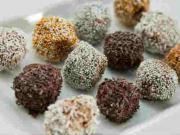 Čokoládové guľky - recept na jednoduché guľky v čokoláde