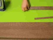 Nákupná taška - striháme jednoduchú nákupnú tašku (1/3)