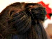 Mašľa z vlasov - ako si urobiť mašľu z vlasov