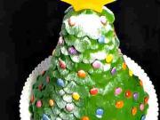 Vianočný stromček ako torta
