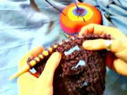 Ako štrikovať dierku na gombík