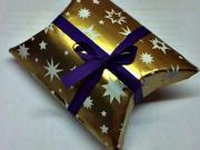 Krabička na dárek - jak zabalit dárek