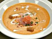 Lososový krem - recept na lososovú polievku