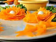 Mrkvové mašličky - ako urobiť mašličky z mrkvy