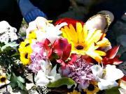Svadobná kytica a aranžmán z kvetov