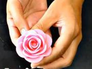 Růže na dort - jak vyrobit růži na dort