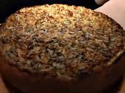 Tvarohový koláč s jablky - recept na celozrnný tvarohový koláč