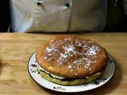 Piškotový koláč Victoria - recept na piškotový koláč s malinovým džemem