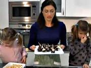 Banány v čokoládě - recept na piškoty s banánem a čokoládou