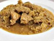 Zabijačková kapusta - recept na zabíjačkovú kapustu s bravčovým mäsom