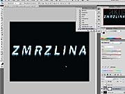 Efektný nápis vo Photoshope - ako vyrobiť efektný nápis