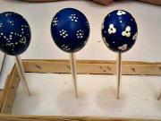 Kraslice modrotisky - modré velikonoční vajíčka