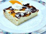 Tvarohový koláč s ovocím - recept na ovocný tvarohový koláč