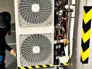Servis a dezinfekcia kazetovej klimatizácie Daikin