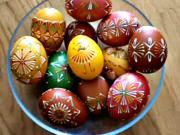 Voskované kraslice - velikonoční vajíčka