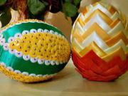 Velkonočné vajíčko - Falošný patchwork