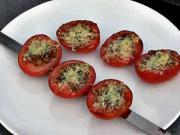 Rajčiny na grile - recept na grilované paradajky s rozmarínom, cesnakom a parmezánom