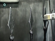 Výroba brány, plota - patinovanie kovu