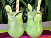 Citronová a okurková limonáda - recept