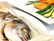 Ryba Pražma v papieri - recept na pražmu v papieri na pečenie