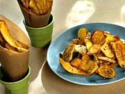 Zemiakové  lupienky - recept na smažené zemiakové lupienky