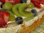 Ovocná torta - recept na ovocnú tortu so želé