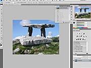 Zvlnená pohľadnica - Photoshop (1/2) - ako vyrobiť zvlnenú pohľadnicu