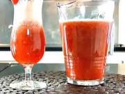 Rozmarínovo - jahodovy sirup - recept