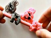 Koala na ceruzke - ozdoba ceruzky z gumičiek