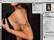 Tetovanie vo Photoshope  - vyrobme si tetovanie ... 1. časť