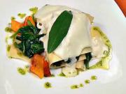 Lasagne s ricotou - recept na lasagne s ricotou a listovým špenátem