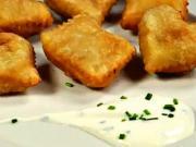 Taštičky z lístkového cesta - recept na taštičky plnené zemiakovou kašou so smotanou a pažítkou