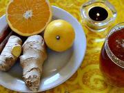 Med-zázvor-citron chutná přírodní medicína :)