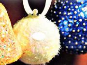 Vánoční koule a zvoneček